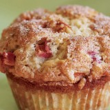 rhubarb muffin picture