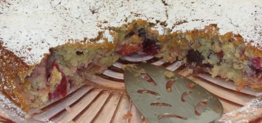 Cherry Almond Cake