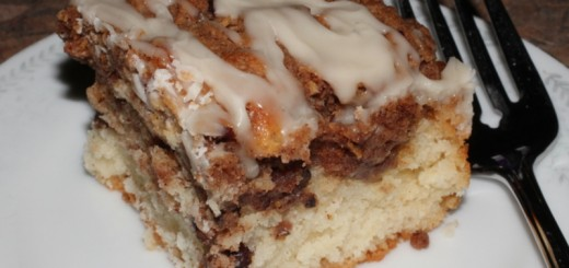 Cinnamon Bun Coffee Cake