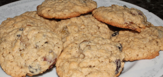 Oatmeal Raisin Cookies-0031