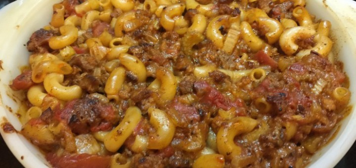 Hamburger and Macaroni Casserole - Nana's Best Recipes