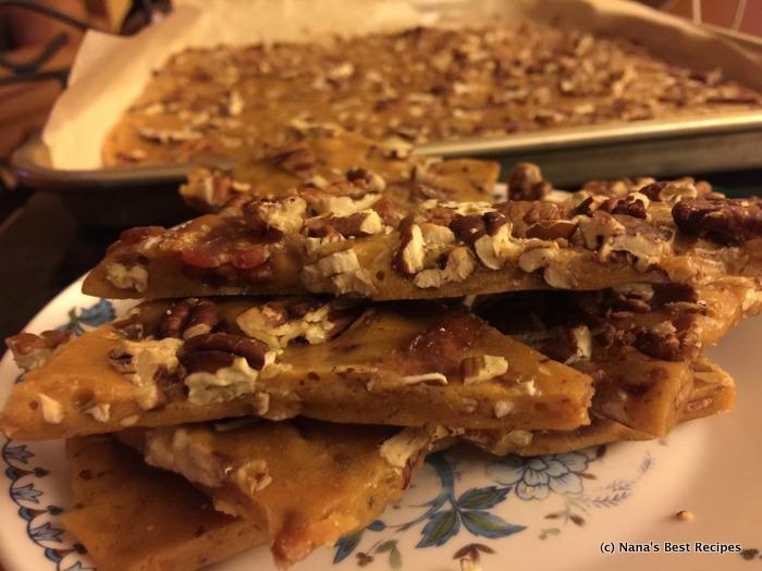 Bacon Pecan Brittle 2