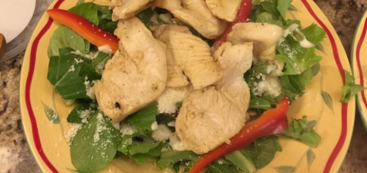 Chicken Caesar Salad 14