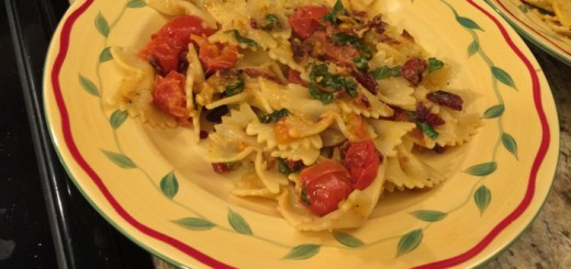 Pasta with Fresh Tomato and Basil-021