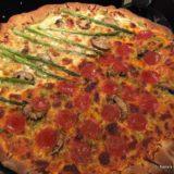 Asparagus White Pizza-001