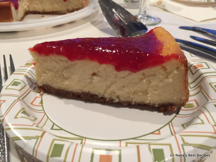 Almond Ricotta Cheesecake