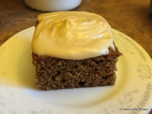 Gingergread Cake and Icing and Sauces-007