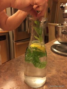 Lemon Mint Water-001