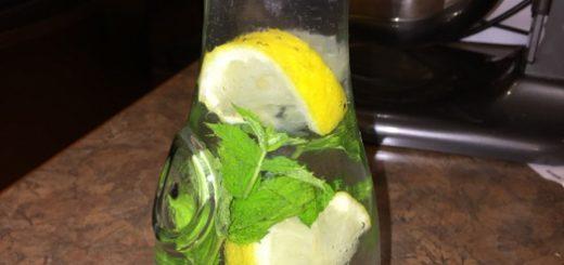 Lemon Mint Water-006