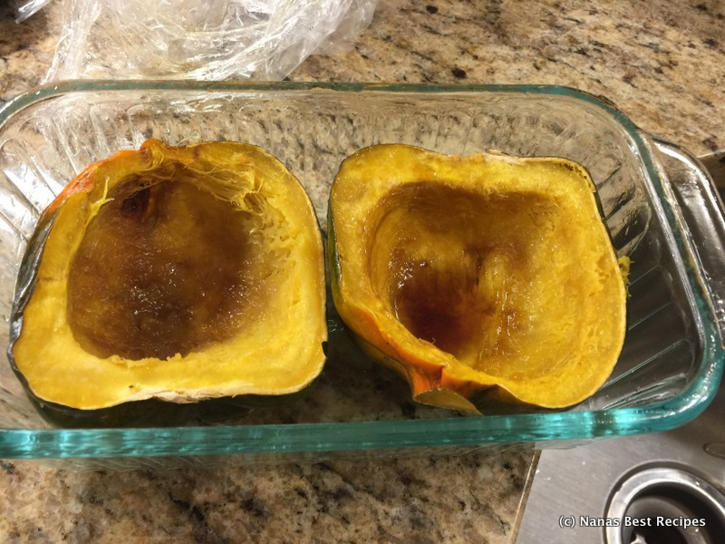 how to cook squash in microwave