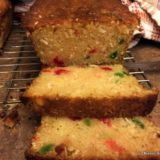Coconut Cherry Loaf-014