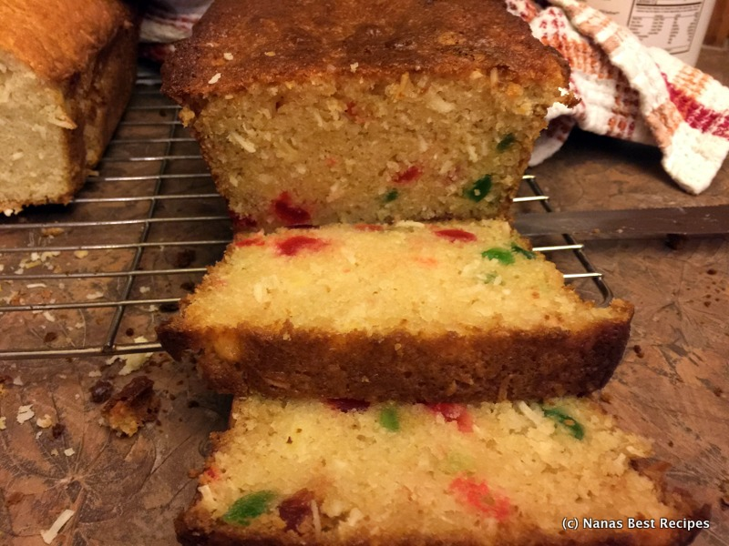 Coconut Cherry Loaf