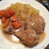 Instant Pot Chicken and Gravy with Potatoes and Carrots-014