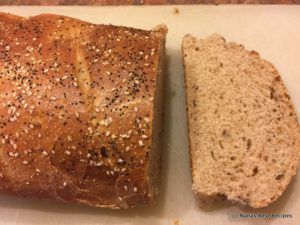 Rye Whole Wheat Sourdough Bread-003