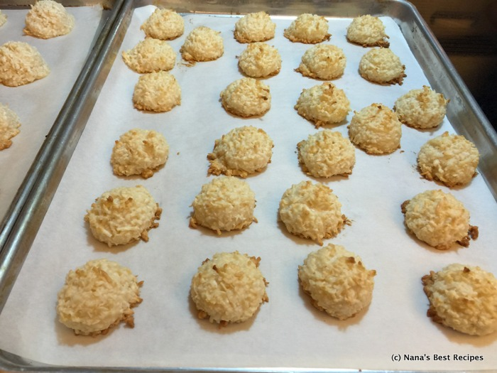 how to make coconut macaroons filipino style